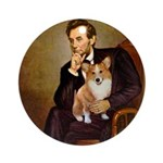 Lincoln's Corgi Ornament (Round)
