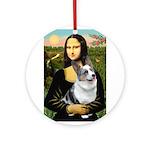 Mona's Corgi (Bl.M) Ornament (Round)