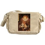 Queen / Welsh Corgi Messenger Bag