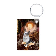The Queen's Corgi (Bl.M) Aluminum Photo Keychain