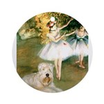Dancer1/Wheaten T Ornament (Round)