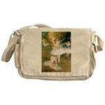 Dancer1/Wheaten T Messenger Bag