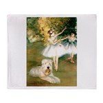 Dancer1/Wheaten T Throw Blanket