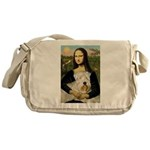Mona's Wheaten Messenger Bag