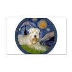 Starry / Wheaten (#1W) 20x12 Wall Decal