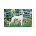Bridge & Whippet 20x12 Wall Decal