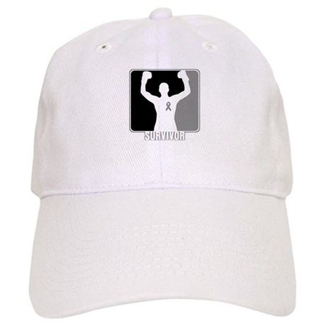 Brain Cancer Survivor Man Cap
