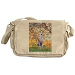 Spring / Whippet Messenger Bag