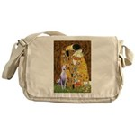 Kiss & Whippet Messenger Bag