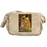 Kiss & Whippet Messenger Bag