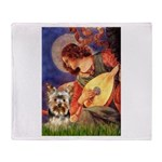 Mandolin Angel / Yorkie (17) Throw Blanket