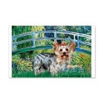 Bridge / Yorkie (T) 20x12 Wall Decal