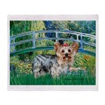 Bridge / Yorkie (T) Throw Blanket