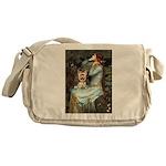Ophelia's Yorkie (17) Messenger Bag