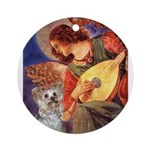 Angel 3 - Yorkshire Terrier Ornament (Round)