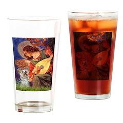 Angel 3 - Yorkshire Terrier Drinking Glass