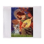 Angel 3 - Yorkshire Terrier Throw Blanket