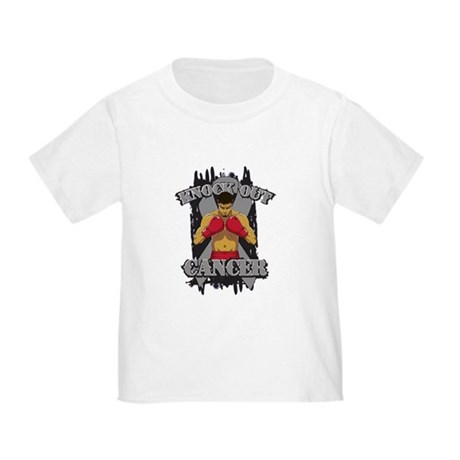 Knock Out Brain Cancer Shirts Toddler T-Shirt