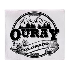 Ouray Old Circle Throw Blanket