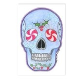 Christmas Skull Postcards (Package of 8)