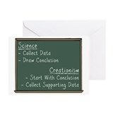 Science vs Creationism Greeting Cards (Pk of 20)