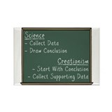Science vs Creationism Rectangle Magnet (10 pack)
