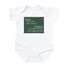 Science vs Creationism Infant Bodysuit