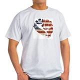 American Flag Fist T-Shirt
