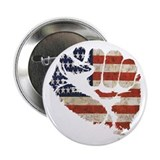 "American Flag Fist 2.25"" Button (10 pack)"