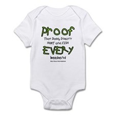 Daddy's Proof Infant Bodysuit