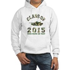 Class Of 2015 Military School Hoodie