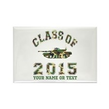 Class Of 2015 Military School Rectangle Magnet