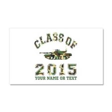 Class Of 2015 Military School Car Magnet 20 x 12