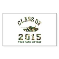 Class Of 2015 Military School Decal