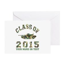 Class Of 2015 Military School Greeting Card