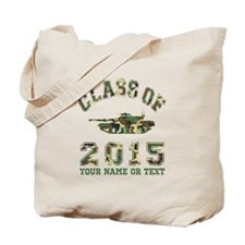 Class Of 2015 Military School Tote Bag