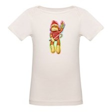 Christmas Sock Monkey Clothin Tee