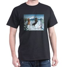 Ski Dachshunds T-Shirt