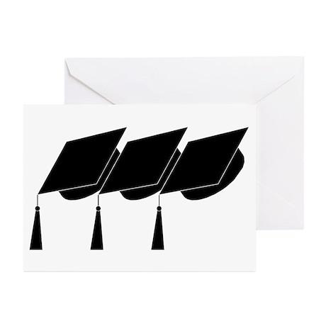 Graduation Caps! Greeting Cards (Pk of 10)