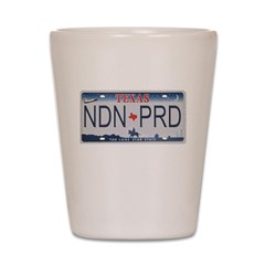 Texas NDN Pride Shot Glass