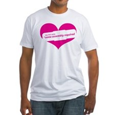 Pink Heart Contemporary Shirt