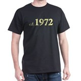 Est. 1972 (Birth Year) T-Shirt
