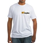 Ceylon Fitted T-Shirt
