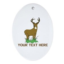 BIG BUCK Ornament (Oval)