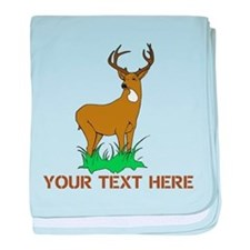 BIG BUCK baby blanket