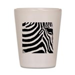 zebra print Shot Glass