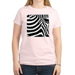 zebra print Women's Light T-Shirt