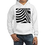 zebra print Hooded Sweatshirt