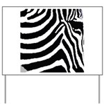 zebra print Yard Sign