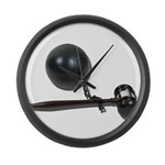 Facing Legal Issues Large Wall Clock